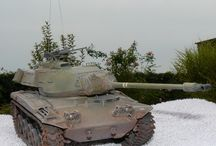 my finished projects:m41a3 afv club / my modelling attempts