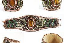 Beautiful bead embroidery