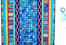 blue quilts / by Carol Mercer