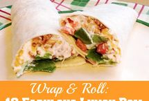 Wraps recipes / Miscellaneous recipes for wraps of all sorts.