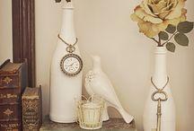 Bottle/Glass Ideas / Bottle/Jar/Glass