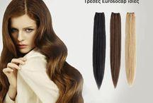 Τρέσες by Wigs / Τρέσες από 100% φυσικό Remy μαλλί