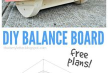 Balance Boards / Everything you need to know about balance boards from DIY projects, new balance boards on the market and how to use and work out with them.