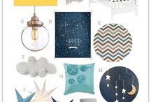 Starry Nights Nursery Room / Ideas for Nursery