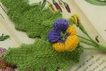 Разные цветы и другие мелкие штучки