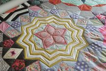 Tula Pink / Just a few of the quilts that I have quilted for Tula Pink!