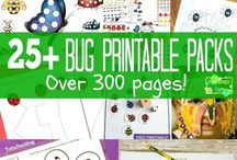 Printable Activities / Printable activities for Kids with year round ideas. / by Rainy Day Mum