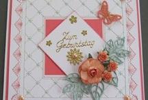 Fadengrafik/Card stitching