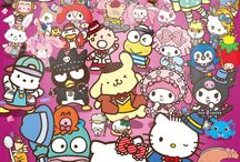 hello kitty and frends