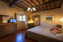 Hotel Italia Cortona, in  the ancient and historical Palace / Our Hotel Italia in Cortona, our room, our guests and our beautiful panoramas