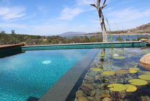 Landscape: Natural Pools / Swimming Pools, nature pools integrated with landscape