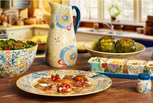 A Love Of Color / A colorful tapas party featuring Pfaltzgraff's Merisella dinnerware! / by Pfaltzgraff