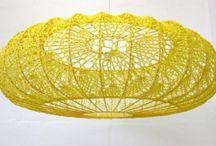 Crochet - lamps