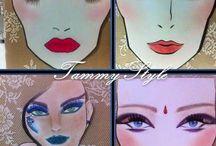 Plantillas de maquillaje / Plantillas/láminas de maquillaje, para decorar tu habitación o tu gabinete.  http://www.milanuncios.com/laminas/cuadro-laminas-maquillaje-hechas-a-mano-146917075.htm  http://www.segundamano.es/sevilla/cuadro-de-laminas-de-maquillajes-fabricadas-a-mano/a63161271/?ca=0_s&c=18