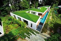 Green roofs with artificial grass