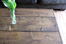 dyi coffee table