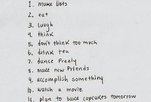 favorite lists