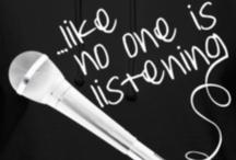 dont talk sing