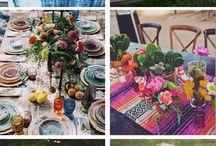 Deco mesas cenas