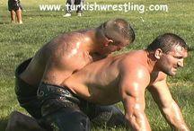 oil wrestlers