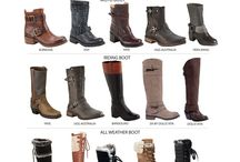 Winter Boots / Gives tips on how to match boots with clothes