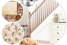 Shabby Chic / What's your #stairstyle?  If you love vintage decor and pretty trinkets you'll love shabby chic interiors.
