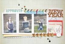 SCRAPBOOK / Collection of scrapbook layouts made by other people.