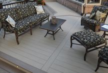 Decking / Ideas for building the deck or patio of your dreams.