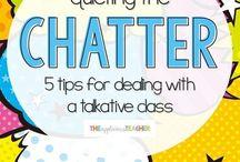 Talkative class tips