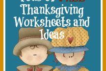 Homeschool:Thanksgiving / by Allissa Buseman