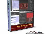 My Plugins / Auto Generate RAB SNI - SketchUp Auto Generate RAB SNI - 3dmax