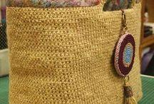 bags crochet/knitted
