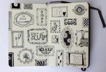* Sketchbook *