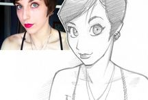 Animated people drawings