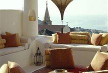 Terasy balkony