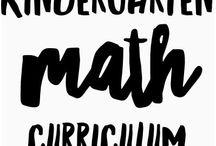 Kindergarten Math Curriculum