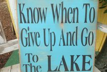 lake house signs / by Tina Whynott