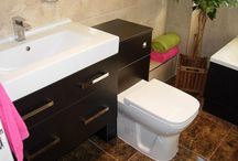 Orsett Bathroom / A high quality bathroom with full tiling and fitted cabinetry. http://www.ppmsltd.co.uk