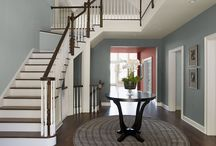 paint colors / Ideas for master bdrm and lr paint / by Darcie Voorhees