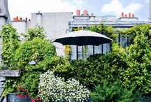 Toit terrasse balcon