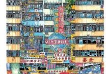 watercolour hk