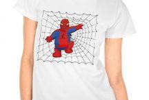 Camisetas / Camisetas con estampados graciosos y personalizados para sentirte único y diferente.  De este tablero algunas las hemos diseñado nosotros, las otras nos gustan tanto que nos hubiera gustado haberlas creado