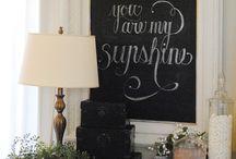 Chalkboard Writing