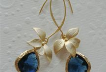 Wedding gifts / Orchid earrings