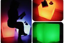 Cubos Luminoso - Light cubes- Cubes Lumineux / A nossa sugestão para iluminar o seu Natal!  Our suggestion to light up your Christmas!  Notre suggestion pour égayer votre Noël!