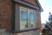 Khaki Brown Lap Siding Chesterfield, MO. (63017) / This is a new construction siding job that features James Hardie Khaki Brown Lap Siding as well as Soffit & Fascia. It is located in Chesterfield Missouri, a suburb of Saint Louis.