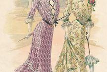 fashion 1890 - 1910