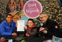 #StartBiologisch 2013 / Maandag 13 januari vond de kick-off plaats van 'Start Biologisch' op het plein voor De Groene Passage in Rotterdam. Omringd door schoolkinderen onderstreepte Giovanni het belang van gezonde voeding voor kinderen en volwassenen. Ook vertelde Giovanni meer over de samenwerking tussen Bionext en zijn Giovanni van Bronckhorst Foundation.