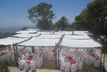 Ambientaciones / Ambientamos tu boda o tu fiesta como tú quieras. Árabe, ibicenca, campestre, marina...