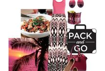 Contest entries - 069 - Pack and go - Tropical vacation